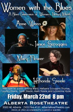 Women with the Blues: A Celebration of Women's History Month