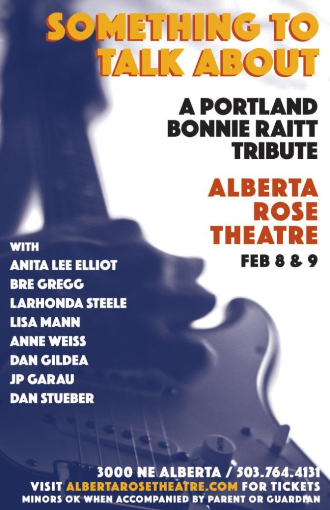Something To Talk About - Feb 7 and 8, 20202, at Alberta Rose Theatre, Portland OR